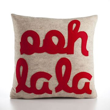 Ooh La La pillow