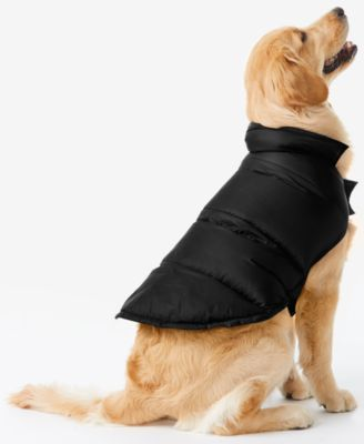 32 Degrees Reversible Down Puffer Coat for Dogs $16.99 Even pups need an extra layer sometimes! Keep your four-legged friends cozy with 32 Degrees' down puffer coat for dogs.