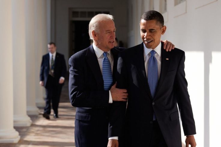 """""""Biden: I tinted all the mirrors orange Obama: What? Biden: He won't be able to see himself Obama: Joe... Biden: He'll think he's a vampire"""""""