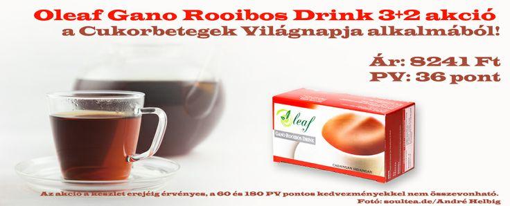 Oleaf Gano Roobos Drink 3+2 akció