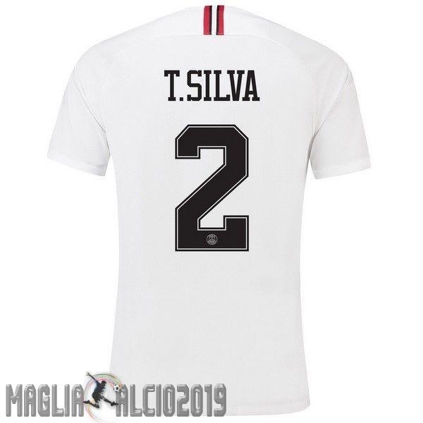 Completi Calcio In Offerta JORDAN NO.2 T.Silva Terza Away Maglia ...
