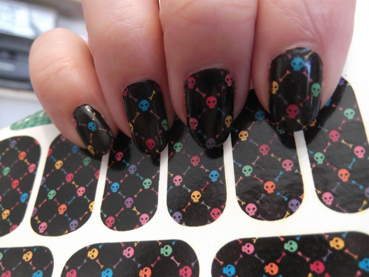 28 best nail designs images on pinterest blue nails enamel and handmade supply materials goth nails skulls halloween nail art supplies manicure prinsesfo Image collections