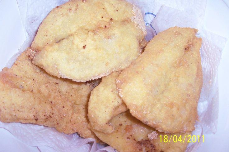 Filés de peixe fritos by Paula  (crocantes)