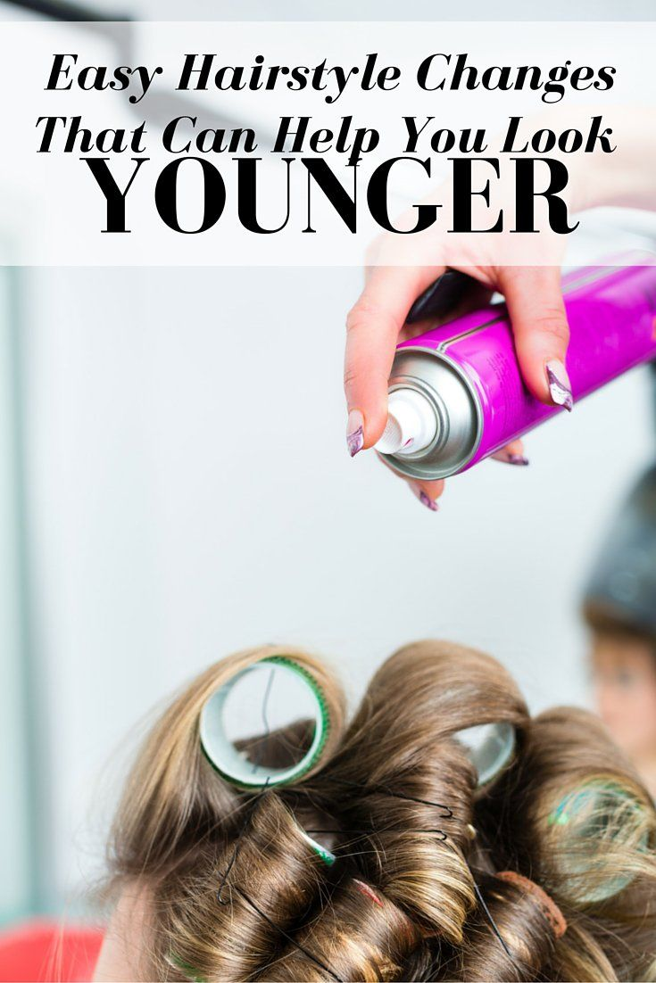 Easy Hairstyle Changes That Can Help You Look Younger Easy