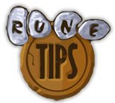 Welcome to Rune Tips, the first ever RuneScape help site. We aim to offer skill guides, quest guides, maps, calculators, informative databases, tips, and much more to help you get the most from the Massive Online Adventure Game, RuneScape, by Jagex Ltd © 2012.