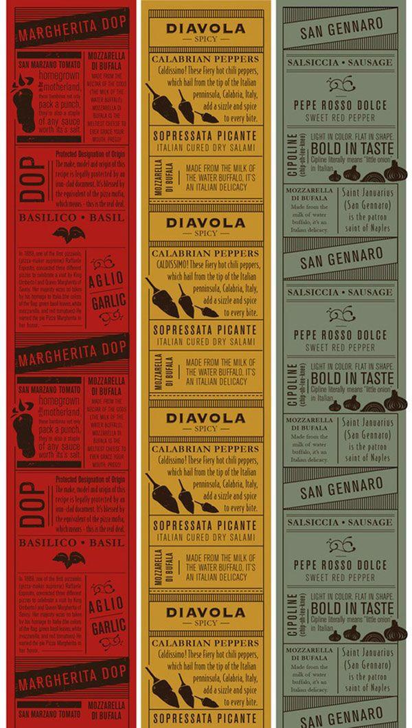 45 Remarkable Food & Drink Menu Designs | Graphic & Web Design Inspiration + Resources