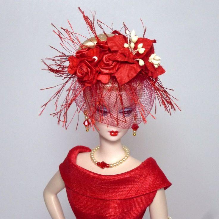 OOAK Vintage Barbie/Silkstone Fashion by Roxy-CLASSIC SHANTUNG SHEATH-RED | Dolls & Bears, Dolls, Barbie Contemporary (1973-Now) | eBay!