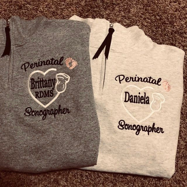 Why Not Stop N Shop Personalized RN Nurse Quarter Zip Pullover Sweatshirt 2A