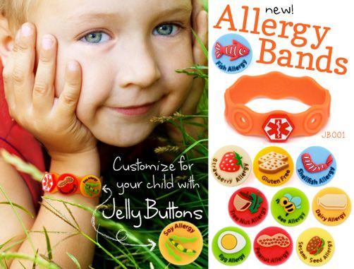 Help ease your worries with these cute allergy alert bracelets! Boy's Medical Alert IDs | Lauren's Hope
