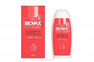 BIOVAX Intensywnie Regenerujący Szampon olej z opuncji & mango 200 ml