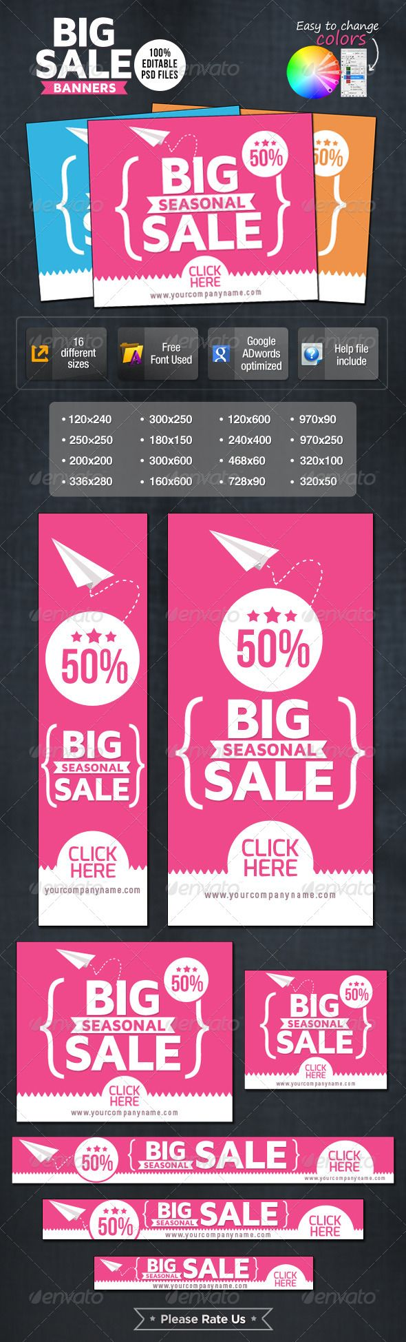 Big Sale Web Banners Template PSD | Buy and Download: http://graphicriver.net/item/big-sale-banners/7007075?WT.ac=category_thumb&WT.z_author=doto&ref=ksioks