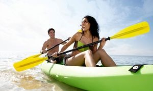 Groupon - Half-Day Kayak Fishing Trip for One, Two, or Four from Elite Saltwater Adventures (Up to 47% Off) in Sebastian. Groupon deal price: $80