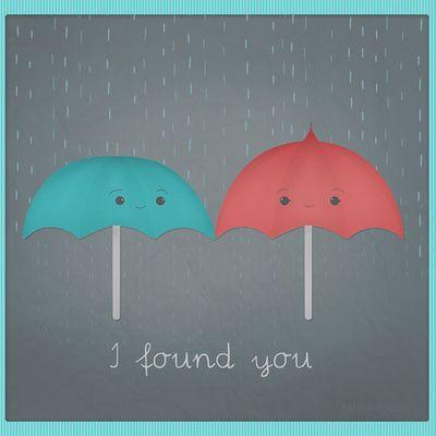 The blue umbrella - pixar