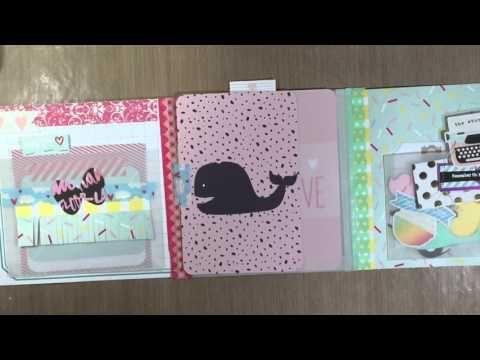 Flip book | Pen pal snail mail flip book