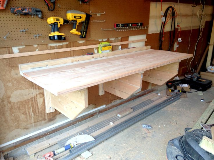 Constructing a Folding Workbench with Storage - Just Measuring Up