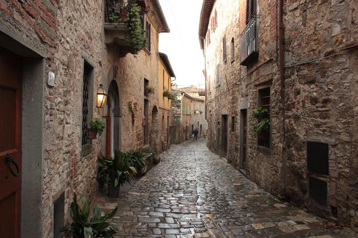 Calles de Montefioralle