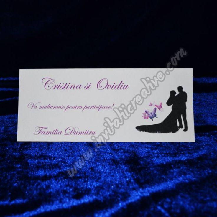 Plic de bani nunta cu miri si fluturi pentru nunta ta!