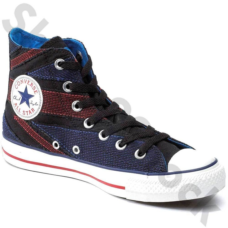 MENS CONVERSE THE WHO ALL STAR HI BOOTS SIZE UK 3 EU 35 FLAG 117368 | eBay