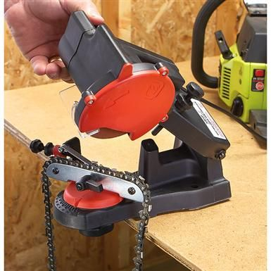 Grip-On® Electric Chainsaw Sharpener