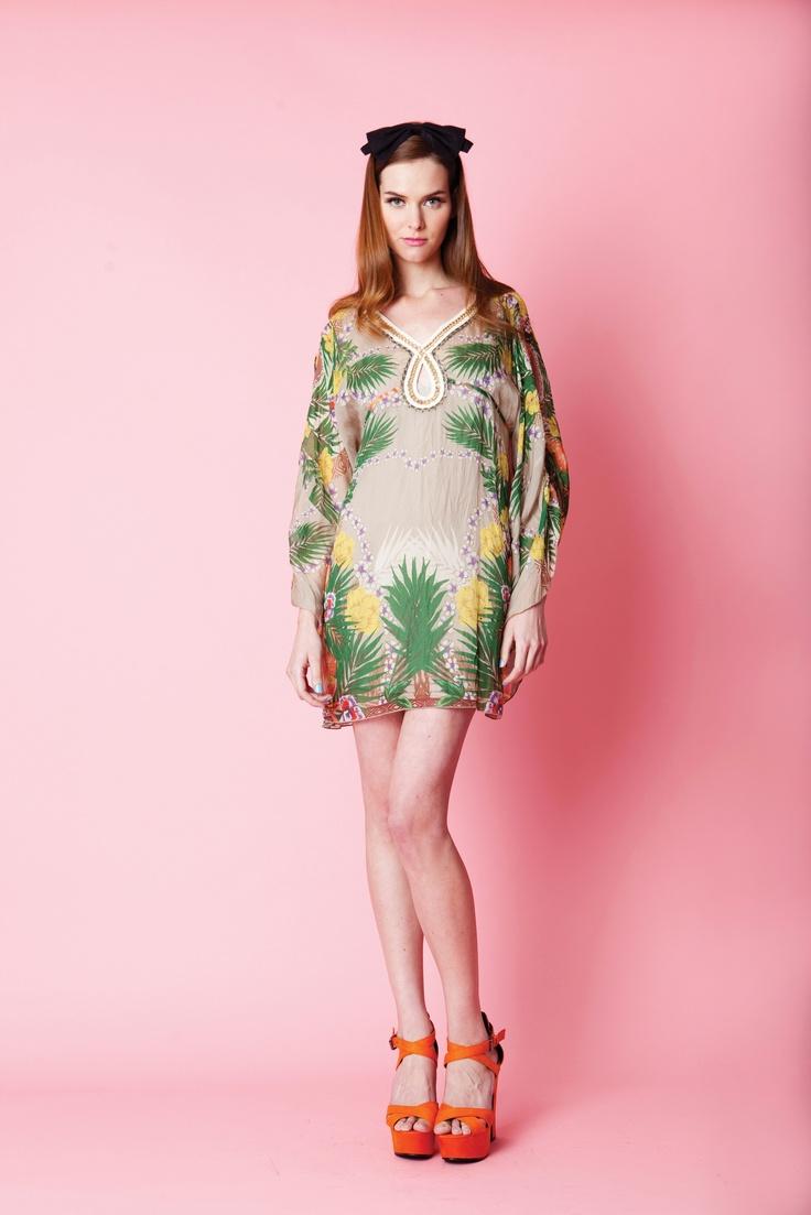 Trelise Cooper Tropic of Conversation dress