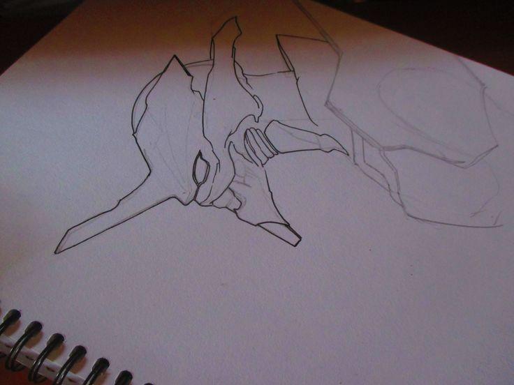 sketching the eva  #neogenesisevangelion #eva #sketch #neo