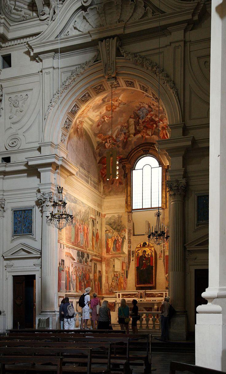 Cappella Brancacci - Chiesa Santa Maria del Carmine, Firenze - affreschi di Masaccio, Masolino di Panicale e Filippino Lippi - 1426-1482