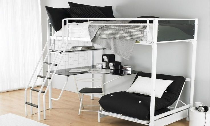 Bunk Bed Buying Guide - Metal Bunk Beds - www.houseofhome.com.au/blog/types-bunk-beds