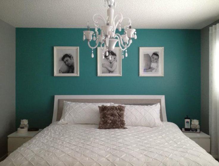 M s de 25 ideas incre bles sobre paredes de color turquesa for Habitacion blanca y turquesa