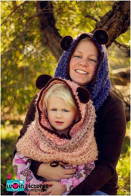 Ravelry: Cutie Cub Hoodie Cow pattern by April Hudson