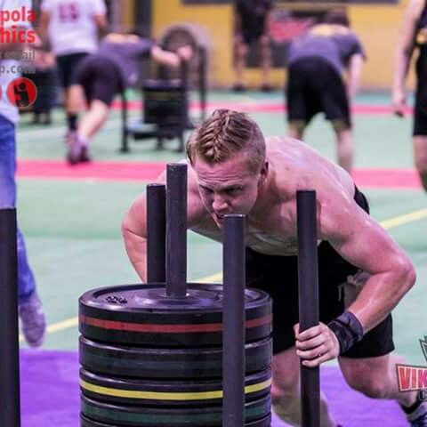CrossFit team captain Shaun Hobson