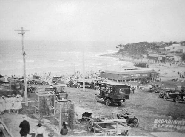 Cronulla Beach in southern Sydney in the 1920s.