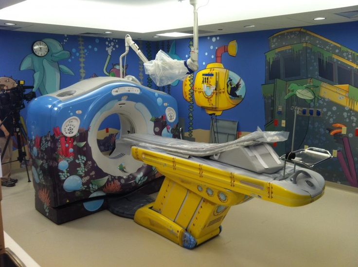MRI machine for kids