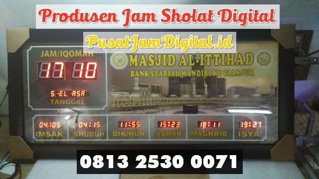 Jam Mesjid Digital Di Musi Rawas Wa 0813 2530 0071 Perakitan Jam