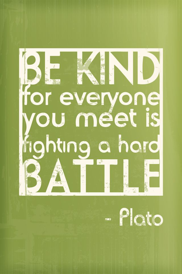 kindness matters.  and there is no reason or excuse not to be kind.  seriously.