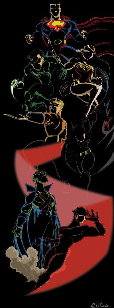 Justice League by ~TheLastGeekHero