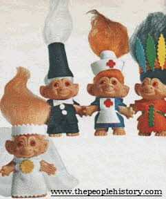 Troll Dolls From The 1960s - what happened the year you were born?