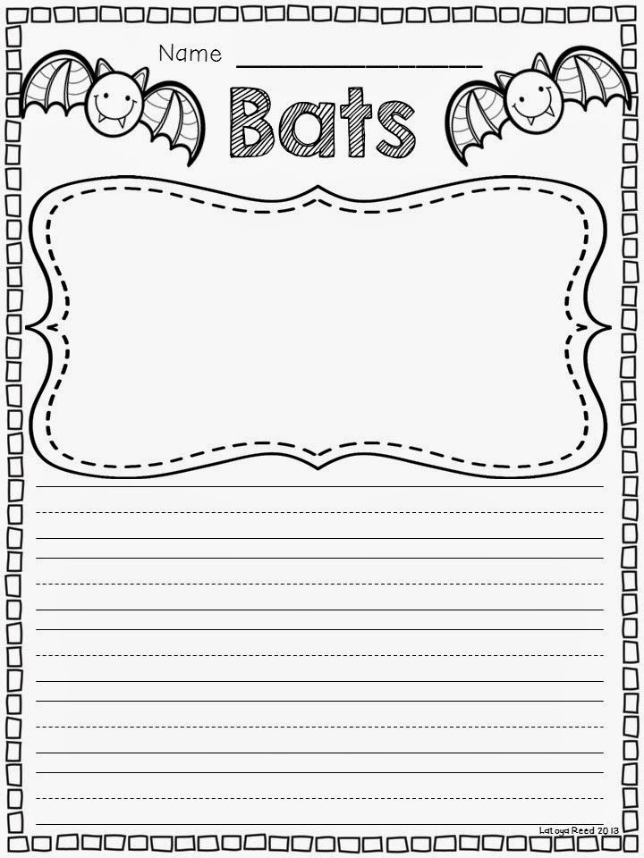 Bat writing activities
