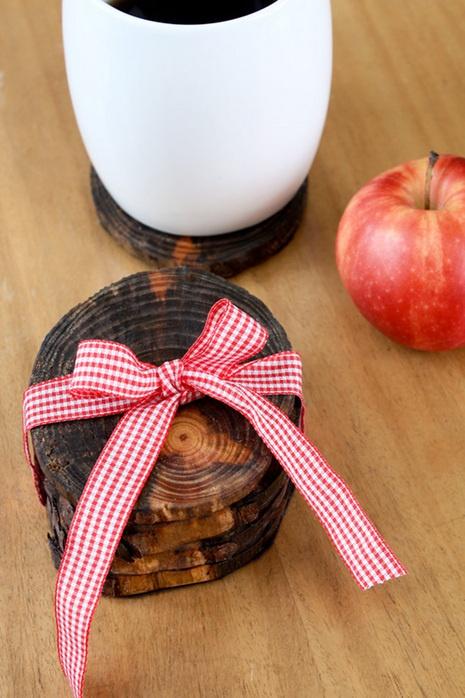 Tree Limb CoastersDiy Coasters, Crafts Ideas, Limb Coasters, Gift Ideas, Trees Branches, Tree Branches, Christmas Gift, Wood Coasters, Trees Limb