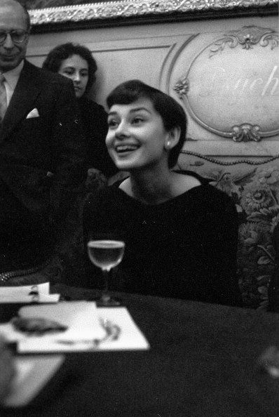 Audrey Hepburn in #Paris, #France, March 03, 1955.