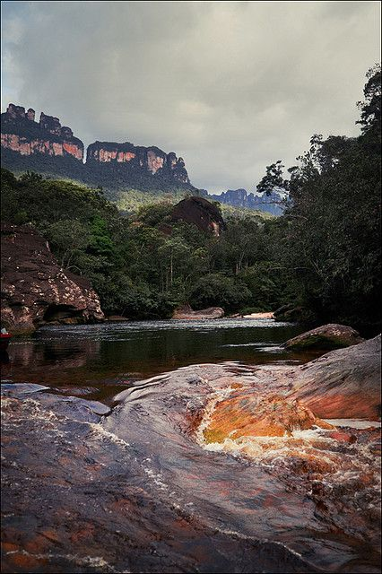 Raging Waters - Canaima, Venezuela