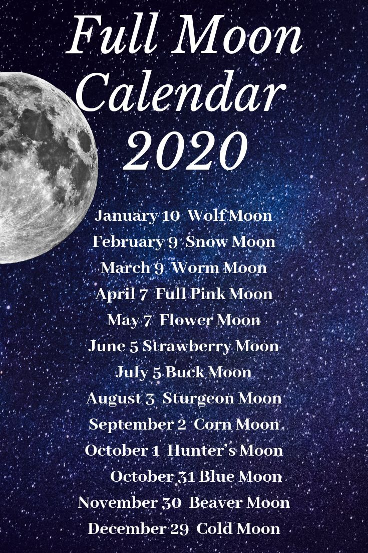 Moon Calendar 2020 Moon Calendar New Moon Rituals Moon Witch