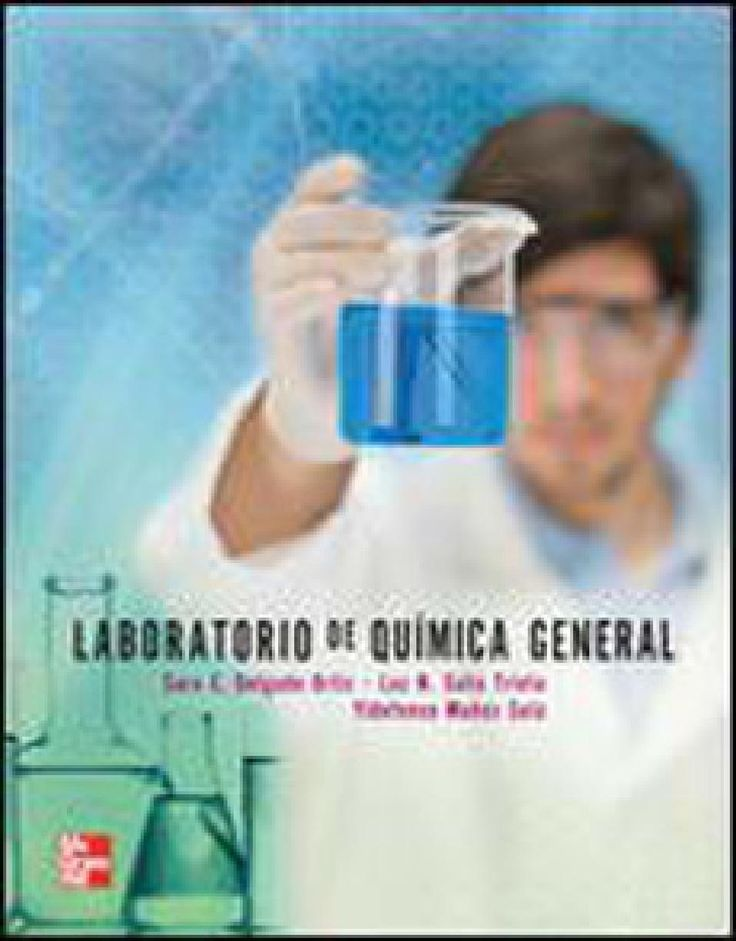 Laboratorio de quimica general for Libro la quimica y la cocina pdf