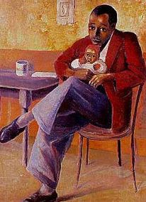 """""""The Proud Father"""" by Gerard Sekoto"""