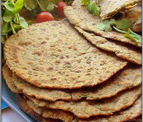 """Индийские лепешки """"Роти с чечевицей"""" / Вегетарианские и веганские рецепты"""