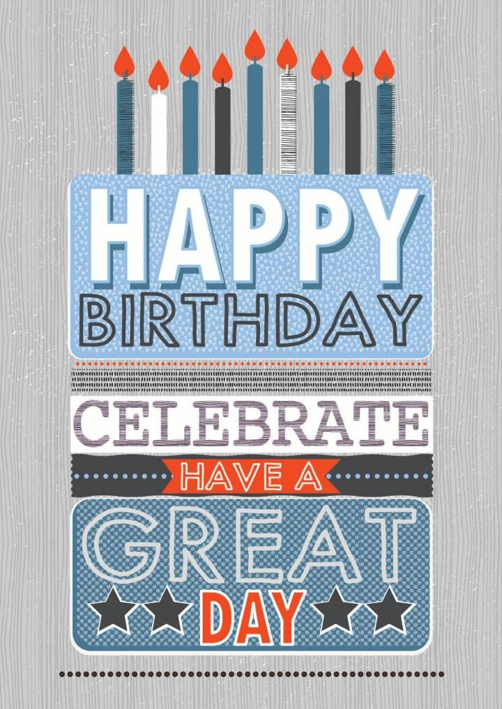 An awesome Birthday card from Laura Darrington Design Ltd