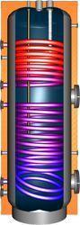 Geëmailleerde boiler speciaal voor warm tap water. Dankzij zijn twee warmtewisselaars is de boiler op meerdere manieren te verwarmen. Ideaal als u bijvoorbeeld een warmtepomp wilt combineren met zonneboilers of CV haard
