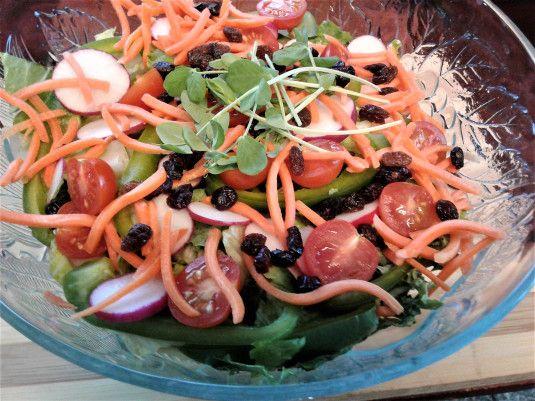 Kale & Romaine salad