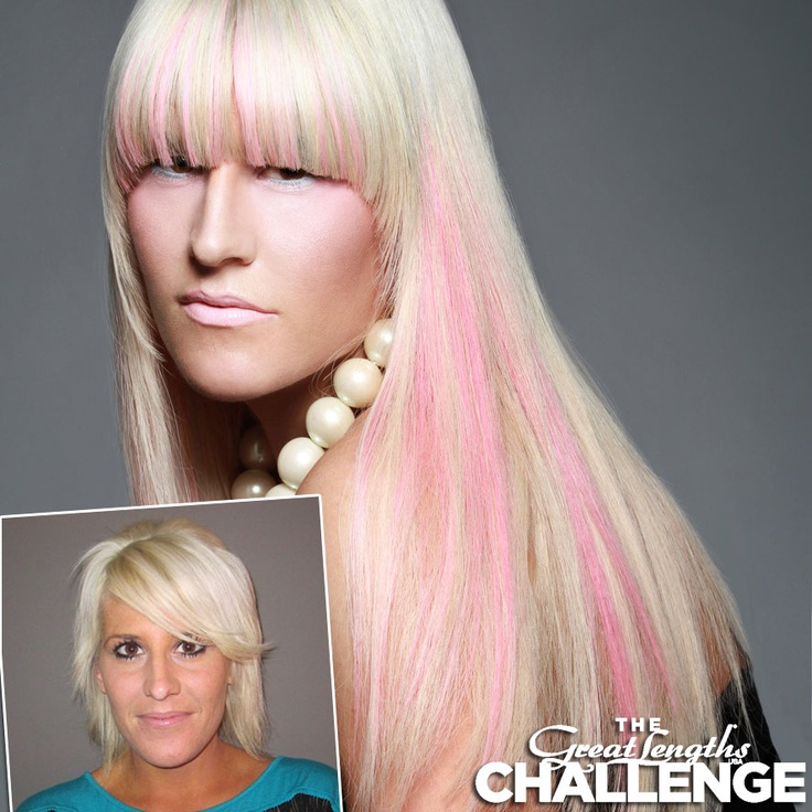 13 best great lengths usa challenge 2013 images on pinterest great lengths hair extensions by chrissy lotenero hair designer at santo salon spa in pmusecretfo Choice Image