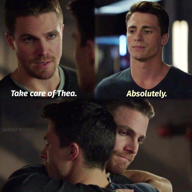 "#Arrow 3x09 ""The Climb"" - Oliver and Roy"