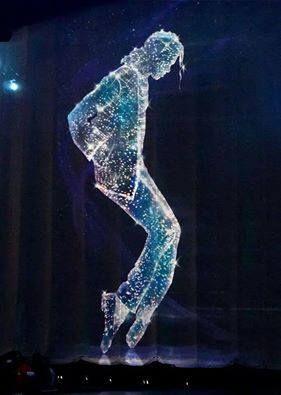 Ik heb deze gekozen omdat ik in mijn uitwerking Michael Jackson ook zou willen laten zo staan en de dansvloer licht laten geven.